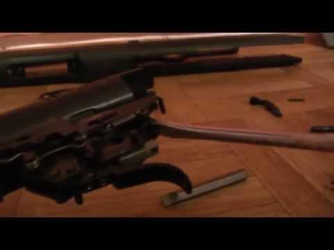 Разборка пневматической винтовки Hatsan 70/90