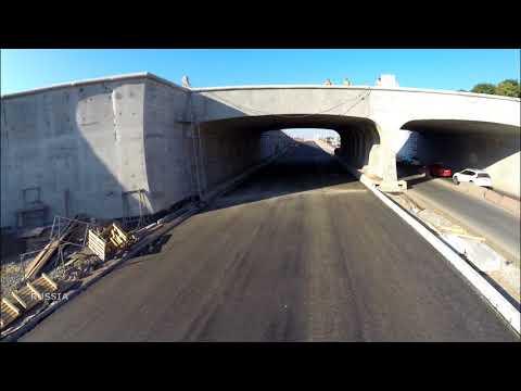 В тоннеле на Ракитовском шоссе уложили асфальт #Samara