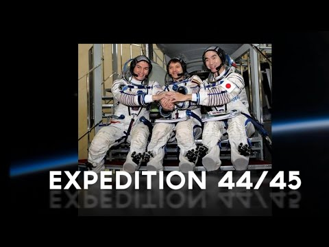 Expedition 44/45 crew targets May launch to ISS