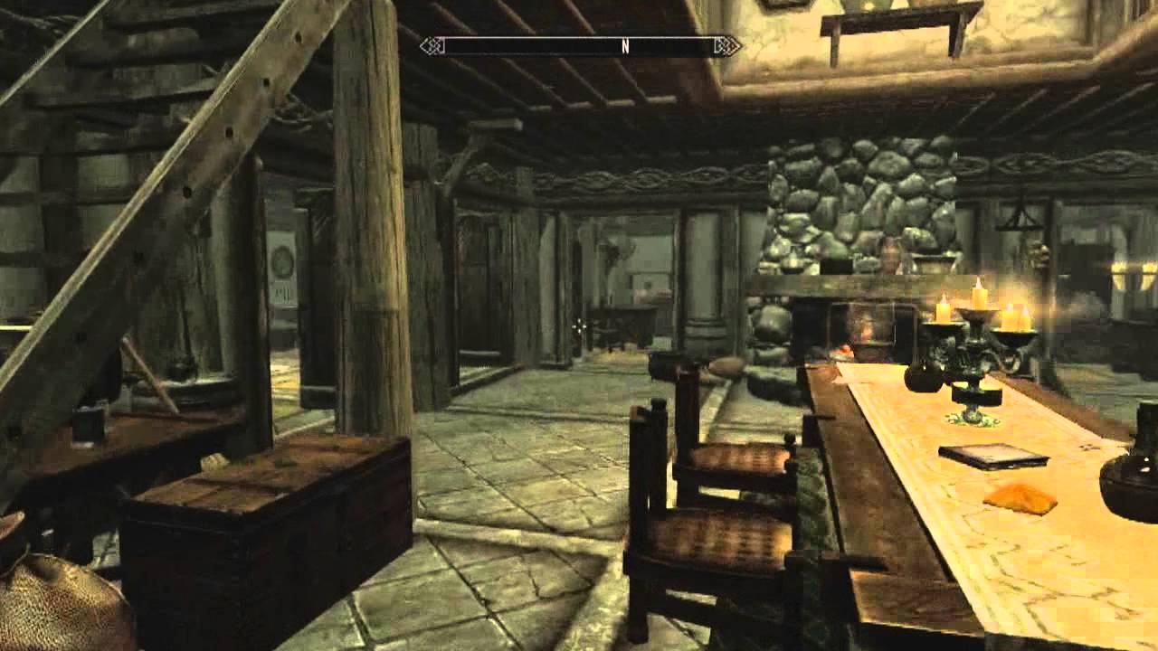 skyrim hearthfire wir bauen ein haus teil 3 youtube. Black Bedroom Furniture Sets. Home Design Ideas