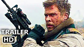 Download 12 STRΟNG Official Trailer (2018) Chris Hemsworth, Action Movie HD 3Gp Mp4