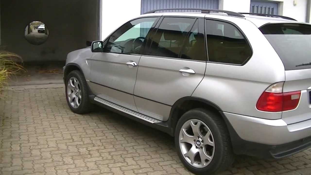 bmw x5 e53 diesel bj 2003 fahreigenschaften youtube. Black Bedroom Furniture Sets. Home Design Ideas