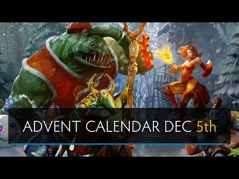 Dota 2 Advent Calendar Dec. 5th (Sven's Christmas Adventure)