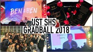 UST SHS Gradball w Ben & Ben + Shanti Dope! (Vlog #1)   Bridget Klaire