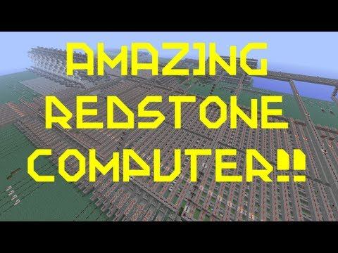 Minecraft - Amazing Redstone Computer Music Videos