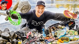 (FULL DIVE EPISODE SPECIAL) Largest Haul to Date Scuba Diving Swim Area at Lake for Lost Valuables!