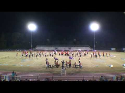 New Hanover High School Marching Wildcats at the 2012 Showcase