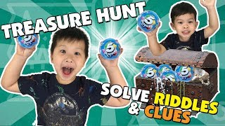 Treasure Hunt and Solving Riddles for Zuru 5 Surprise Toys || Keith's Toy Box