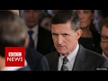 Lagu Michael Flynn: Trump's national security adviser resigns - BBC News