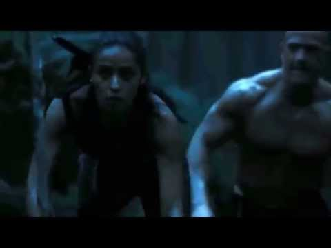 The hunger games catching fire Enobaria and Brutus