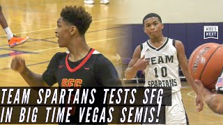 Bronny, Dior and Strive For Greatness run into tough Spartans in Big Time Vegas semis!