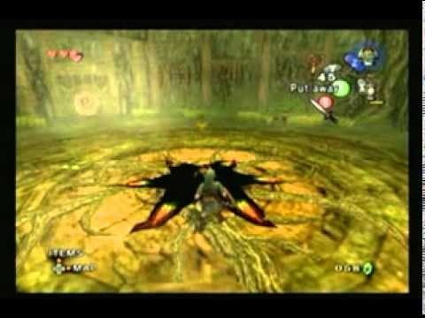 Legend of Zelda Twilight Princess Walkthrough - Forest Temple - Rescue the 4 Monkeys