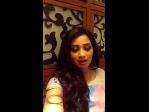 Shreya Ghoshal Personal Video Clp video
