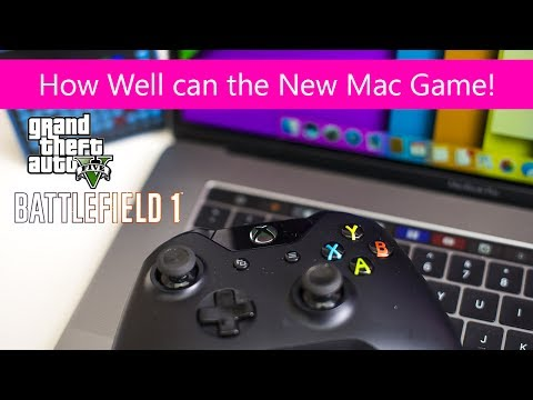 MacBook Pro 15 2017 Gaming Review Kaby Lake Can the new Mac game; GTA 5. Dirt 4. Battlefield 1
