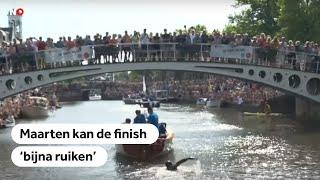 LIVE: De finish is in zicht voor Maarten van der Weijden