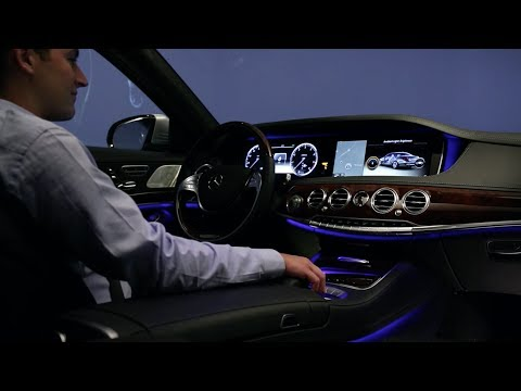 2014 mercedes benz s class interieur lighting system for Mercedes s interieur