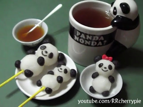 Kracie - Panda Shaped Dango Kit