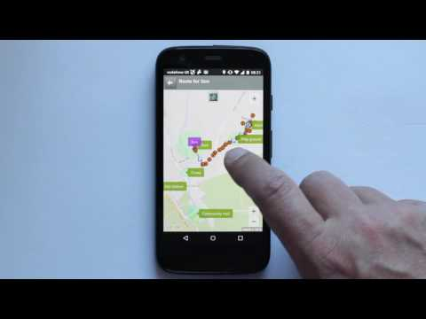 Trusted GPS Tracker: change layout view