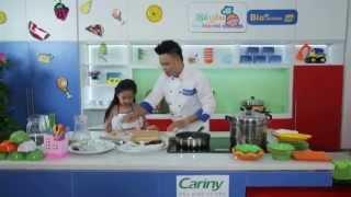 Cùng bé Hà Bảo Anh (Bước nhảy hoàn vũ nhí 2015) làm món Trứng hấp vân (BYLBN – tập 6)