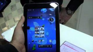 LG Optimus Pad 3D Tablet Hands-On