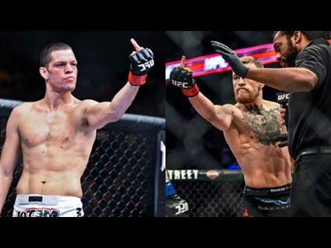Nate Diaz VS Conor McGregor