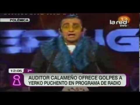 Polémica: Calameño ofrece golpes a Yerko Puchento en programa de radio