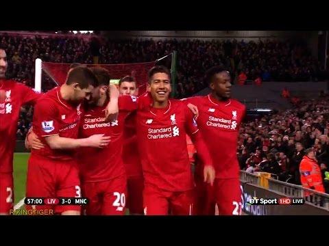 Liverpool vs Manchester City 3-0 All Goals 02/03/2016 HD
