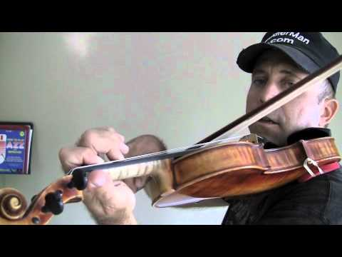 "Simple version of Rossini's ""Barber of Seville"" for violin part 2"