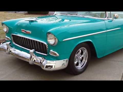 1955 Chevrolet Bel Air HT for sale auto appraisal Grand Blanc Michigan