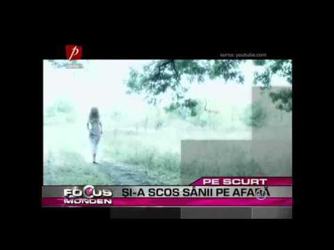 "Andreea Balan si-a scos sanii la inaintare in cel mai recent videoclip ""Ma doare fara tine"""