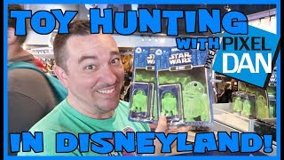 TOY HUNTING with Pixel Dan in Disneyland! - So Many Star Wars Exclusives!