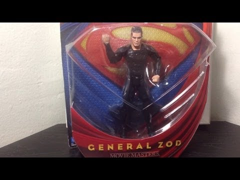 Movie Masters Man of Steel General Zod Figure Review