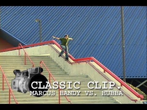 Marcus Bandy Vs. Cal State Long Beach Hubba Skateboard Tailslide