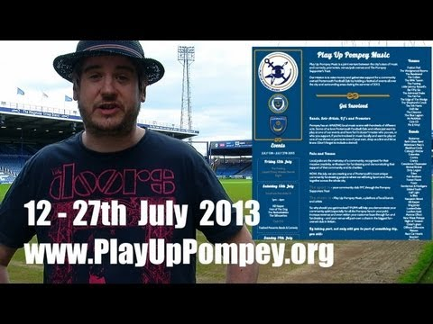 'Play Up Pompey Music' Festival at Fratton Park supported by Nevada Music