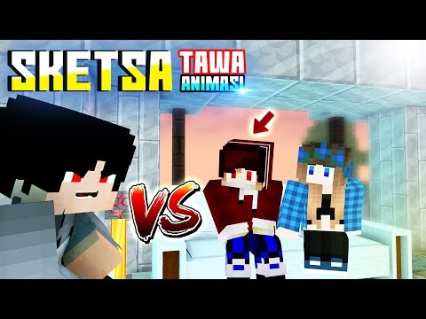 CAMER! Sketsa Tawa 4brother Ft.Anited (Animasi Minecraft Indonesia)