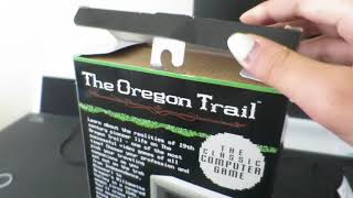 A Terrible Unboxing of... the Oregon Trail Handheld