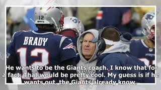 """US News - Report: belichick """"sees an opening"""" to get to thegiants"""