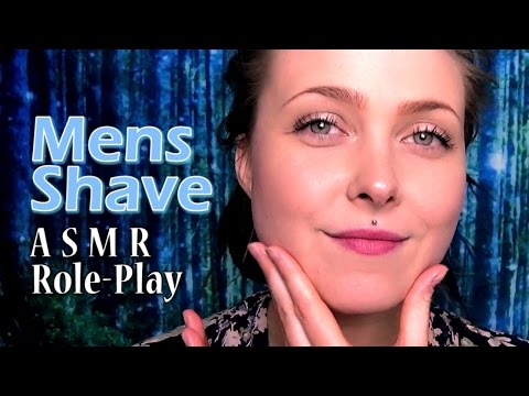 Mens Shave & Face Pampering 🎅 ASMR Role-Play