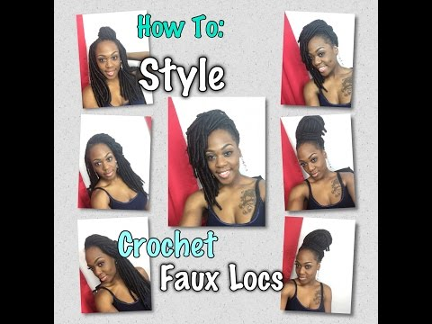 How To: Style Crochet Faux Locs  Courtney Bean