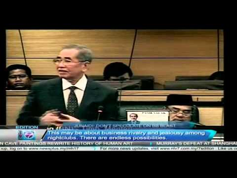 Breaking News Malaysia: Don't Speculate on Bukit Bintang Blast, said Junaidi