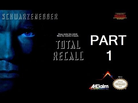 Total Recall (NES) Complete Walkthrough (Part 1)