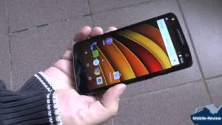Краш-тест Moto X Force с технологией Shattershield