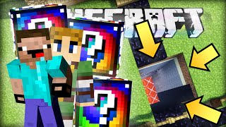 Minecraft LUCKY BLOCKS BATTLE - Das Loch des TODES!
