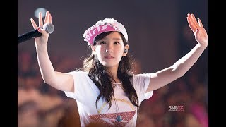 TaeYeon Fancam and the screaming Sones