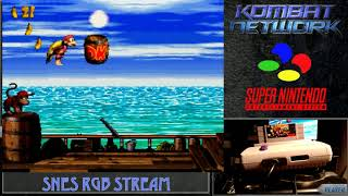 Retro Gaming Bytes - Shock Playthrough - Donkey Kong Country 2 on SNES RGB Hardware! Part 1