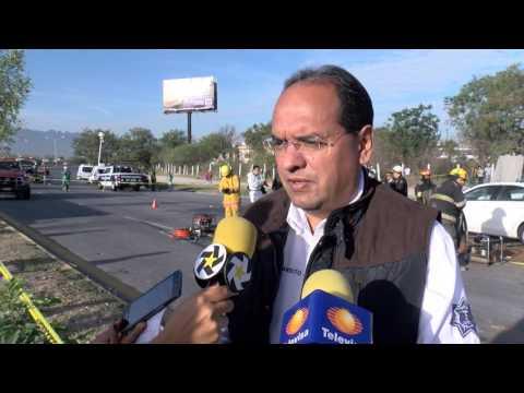 Las Noticias - Mueren dos mujeres en accidente en el Blvd. Miguel de la Madrid, Guadalupe.