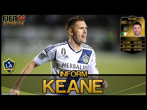 Fifa 14 Ut - If Keane || Inform Team Of The Week Ultimate Team 80 Player Review + In Game Stats video