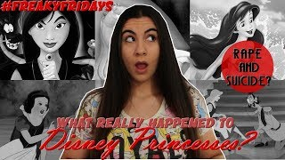 The REAL Dark Truth Behind Disney Princesses #FreakyFriday | Just Sharon