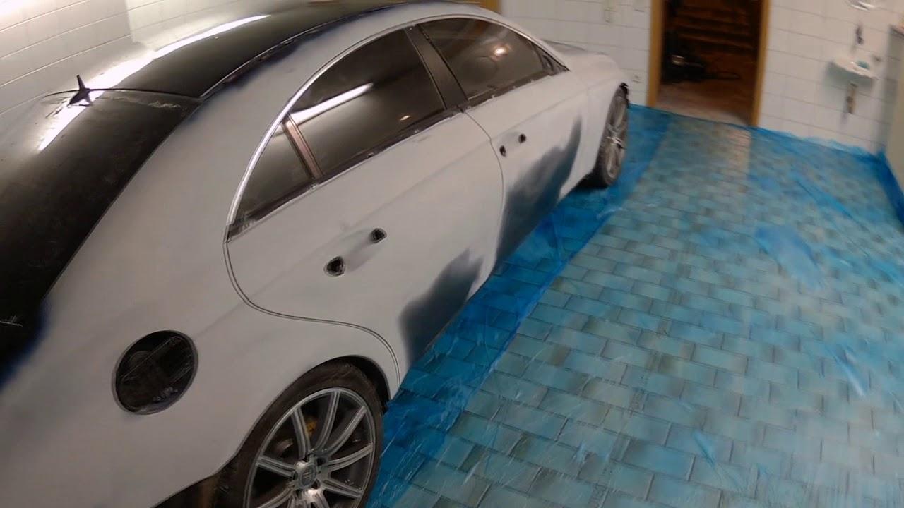 Покраска авто металликом своими руками в гараже 68