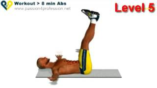 Abs workout how to have six pack - Level 5